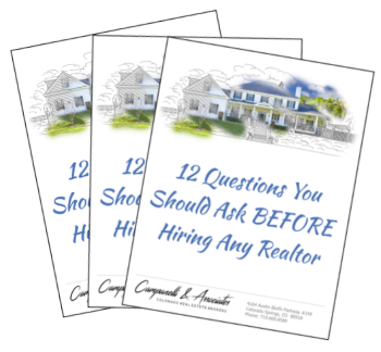 Picture of Free Report - 12 Questions to ask any Realtor before hiring